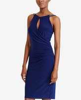 Lauren Ralph Lauren Beaded-Neck Jersey Dress