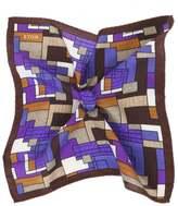 Silk Blend Printed Pocket Square