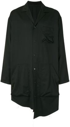 Sulvam Asymmetric Longline Shirt