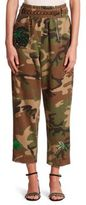 Marc Jacobs Camouflage Belted Pants