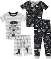 """Carter's Little Boys' Toddler """"Pirate's Life"""" 4-Piece Pajama Set"""