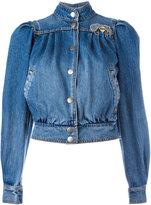 Marc Jacobs shrunken 80's bomber jacket - women - Cotton - M