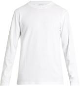 Sunspel Long-sleeved Cellulock sweatshirt