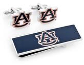 Ice Auburn University Tigers Cufflinks and Money Clip Gift Set
