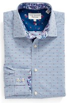 Ted Baker Men's Trim Fit Check Dress Shirt