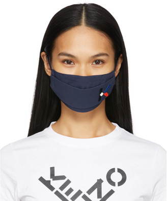 Kenzo Three-Pack Multicolor Embroidered Logo Face Masks