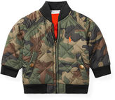 Ralph Lauren Boy Camo Quilted Baseball Jacket