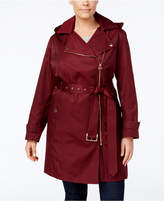 MICHAEL Michael Kors Size Asymmetrical Raincoat