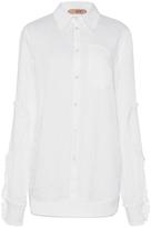 No.21 No. 21 Ruffled Cotton Shirt
