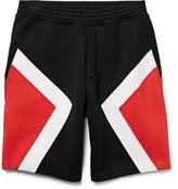 Neil Barrett - Panelled Bonded Jersey Shorts