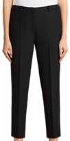 AllSaints Selma Cropped Trousers, Black