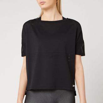 Reebok Women's Performance Mesh Short Sleeve T-Shirt