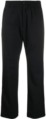 Y-3 Cropped Straight-Fit Trousers