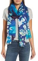 Nordstrom Women's Musical Flower Cashmere & Silk Scarf