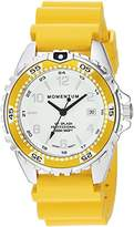 Momentum Women's Quartz Stainless Steel and Rubber Diving Watch, Color:Yellow (Model: 1M-DN11LY1Y)