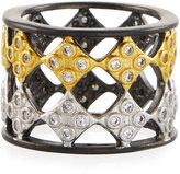 Freida Rothman Open Diamond-Shaped Band Ring, Size 6