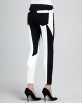 Joe's Jeans Tansy Seamstress Two-Tone Skinny Jeans