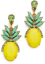 Elizabeth Cole Ananas Earrings