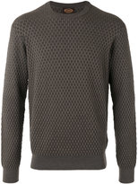 Tod's woven detail jumper - men - Silk/Merino - M