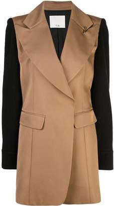 Tibi peaked lapel blazer