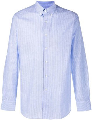 Canali Button Down Striped Shirt