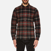 A.p.c. Trevor Checked Shirt Noir