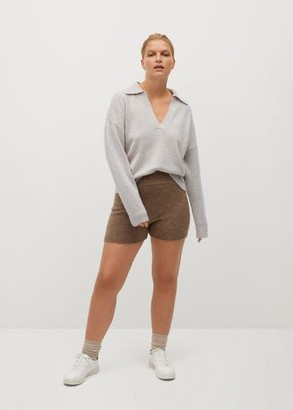 MANGO Polo style sweater
