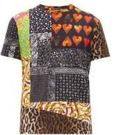 Versace - Multi Print Cotton T Shirt - Mens - Multi