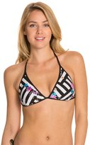 Kenneth Cole Scarf City Reversible Triangle Bikini Top 8123554