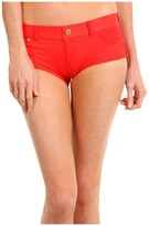Marc by Marc Jacobs Jamie Denim Hipster Bottom (Coral) - Apparel