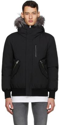 Mackage Black Down and Fur Dixon-XR Jacket