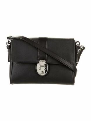 Tumi Leather Crossbody Bag Black