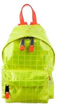 Moschino Neon Quilted Backpack