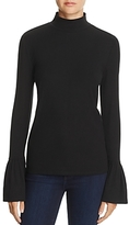 Rebecca Minkoff May Ribbed Bell-Sleeve Top