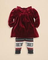 Ralph Lauren Infant Girls' Velvet Tunic & Snowflake Legging Set - Sizes 3-9 Months