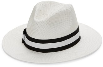 Saks Fifth Avenue Made In Italy Indiana Panama Hat