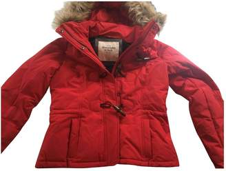Abercrombie & Fitch Red Jacket for Women
