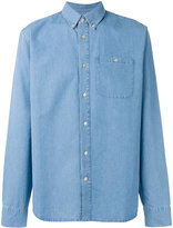 A Kind Of Guise - button-down denim shirt - men - Cotton - S