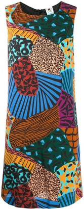 M Missoni Abstract-Print Sleeveless Dress