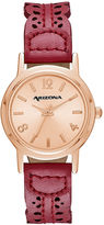Arizona Womens Red Strap Watch-Fmdarz142