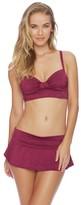Athena Tulum Texture Maliah Flared Skirted Bikini Bottom