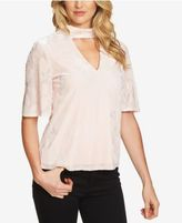 1 STATE 1.STATE Crushed-Velvet Choker Top