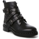 Catherine Malandrino Calandra Leather Stud Combat Boot