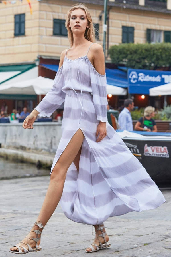 Elan International Cold Shoulder Dress