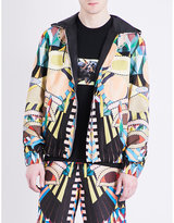 Givenchy Kaleidoscope-print Hooded Cotton-jersey Jacket