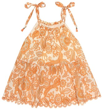 Zimmermann Kids Exclusive to Mytheresa a Peggy cotton top