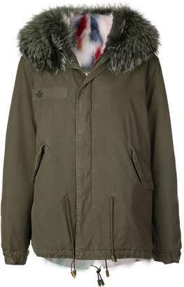 Mr & Mrs Italy fur-trim hooded parka coat