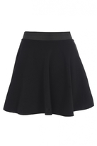 Quiz Black Skater Skirt