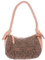 Giuliana Teso Persian Lamb & Leather Bag