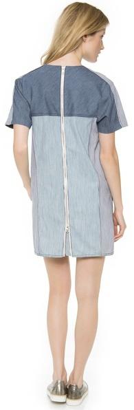 Rebecca Taylor Railroad Dress